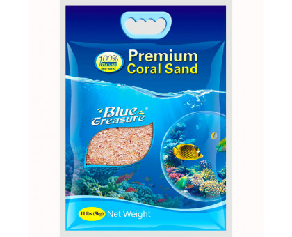 Blue Treasure Coral Sand коралловая крошка очень мелкая, 5 кг