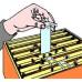Полоски Bayer Байварол для обнаружения и уничтожения клещей варроа, 1 блистер (4 полоски)